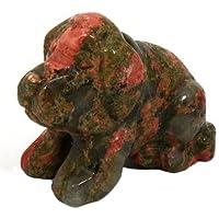 Unakite geschnitzt Kristall Hund preisvergleich bei billige-tabletten.eu