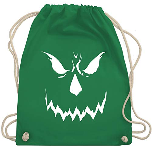 Halloween - Scary Smile Halloween Kostüm - Unisize - Grün - WM110 - Turnbeutel & Gym Bag