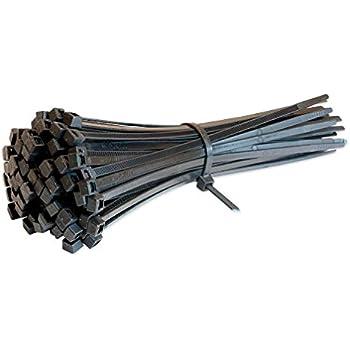 Winkey 100/pcs autobloquant Nylon Cable Ties Zip Wrap-200/mm Gestion de c/âble Attaches de c/âble multicolore