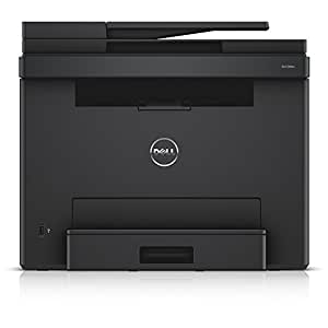 dell e525w led color laser multifunction printer 600x600dpi usb lan wlan incl airprint fax. Black Bedroom Furniture Sets. Home Design Ideas
