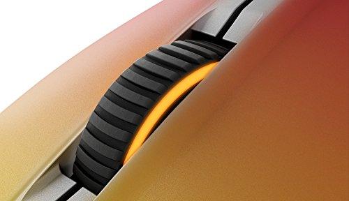 SteelSeries Rival 300 Optische Gaming-Maus (6 Tasten, Gummierte seitliche Griffflächen) – CS:GO Fade - 6