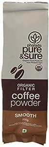 Pure & Sure Organic Coffee Powder SMOOTH 200g