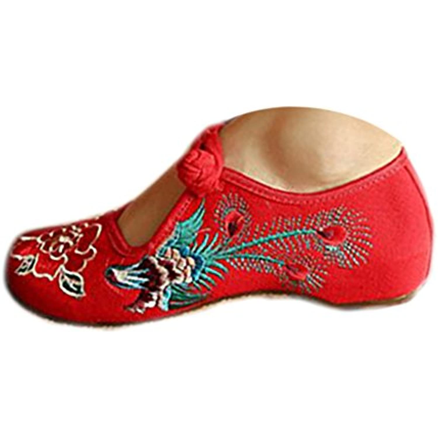 Chaussures Florales Chinoises Brodées Vintage Femme FENGHUANGXIMUDAN Ballerines Mary Mary Mary Jane Ballerine Flat Ballet... - B0714MDTQS - df0b68