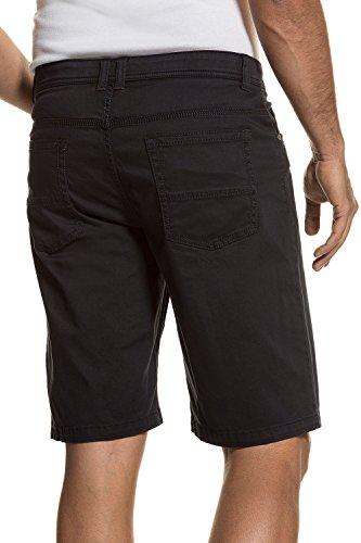 JP 1880 Herren große Größen bis 66 | 5-Pocket Bermuda | kurze Hose, Shorts aus Premium-Baumwolle | Regular, Zipper, knielang | navy 60 711588 70-60 (Flat Front Hose Mens Twill)