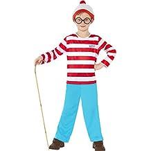 Smiffy 's 39971t where' s Wally disfraz infantil (tamaño)