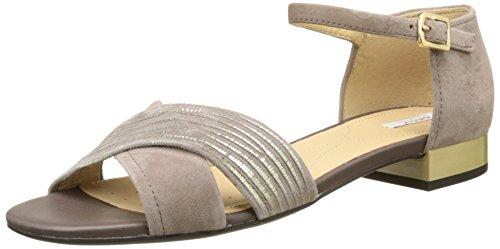 Geox Wistrey Sandalo B, Sandales Bout Ouvert Femme Beige (TAUPEC6029)