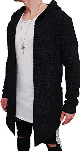 Camouflage Oversize Designer Sweat Jacke Cardigan Hoody Pullover Shirt Herren Hoodie Longsleeve m Kapuzenpullover Long Sweatjacke Sweatshirt...