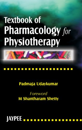 Textbook of Pharmacology for PhysioTherapy