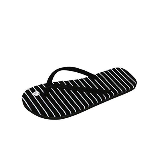 ef3a399f57 JYC Clearance Omen Summer Flip Flops Shoes Sandals Slipper Indoor & Outdoor  Flip-Flops Wedge Women Slippers Open Toe Sandals Flat Sandal (6.5 UK, ...