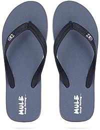 b9d1c70f8 Amazon.in  Grey - Flip-Flops   Slippers   Men s Shoes  Shoes   Handbags