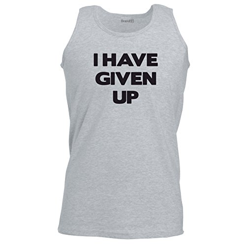 Brand88 - I Have Given Up, Unisex Athletic Weste Grau