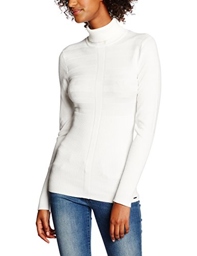 Morgan Mentos Pull, Blanc (Off White Off White), FR: 42 (Taille Fabricant: L) Femme