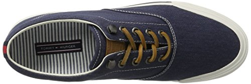 Tommy Hilfiger De Sm Y2285armouth 1d2, Sneakers basses homme Blau (Tommy Navy 406)