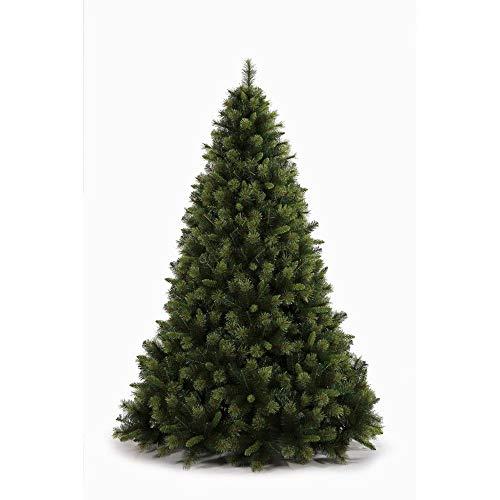 Mazzeo giocattoli albero di natale 240 faggio verde artificiale folto realistico gancio 1834 aghi