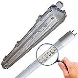 LED Feuchtraumleuchte 1x150cm incl. LED Röhre 6000K Set