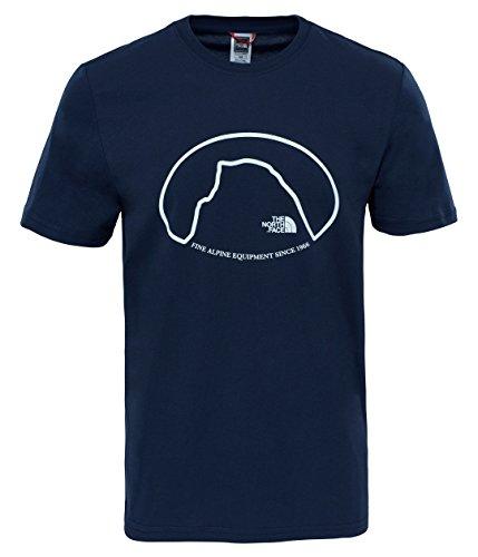 the-north-face-celebration-t-shirt-homme-bleu-marine-urban-moyen
