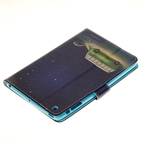 Coque iPad Mini 3, elecfan® Slim Fit Étui de protection pour iPad Mini 123Étui avec fonction support et insigne bautem aimant pour veille/veille pour Apple iPad Mini 3, Ipad Mini 2et iPad mini 7,9 A02