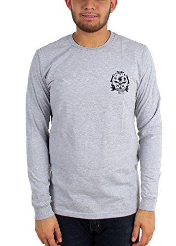 rvca-maglia-a-maniche-lunghe-da-uomo-maglietta-eroberer-grigio-xxl