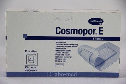 Cosmopor E Steril 15x8cm Wundverband (25 Stück)