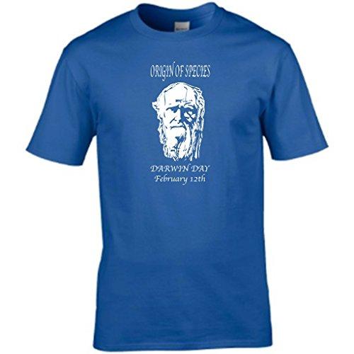 S Tees Herren T-Shirt Königsblau