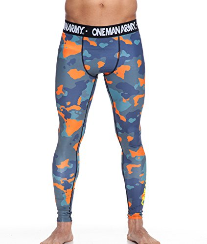 ONE MAN ARMY Camo Spats / MMA, Grappling, Fitness / Compression Leggings … (Fw-hose)