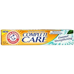 Arm And Hammer Complete Care Fluoride Anticavity Toothpaste - 6 Oz, 2 Pack