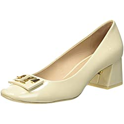 Tory Burch Damen Gigi Pumps, Beige, 38 EU