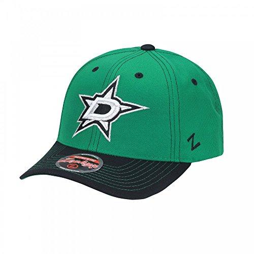 Zephyr Nhl Hut (Zephyr NHL Dallas Stars Staple Adjustable Cap)