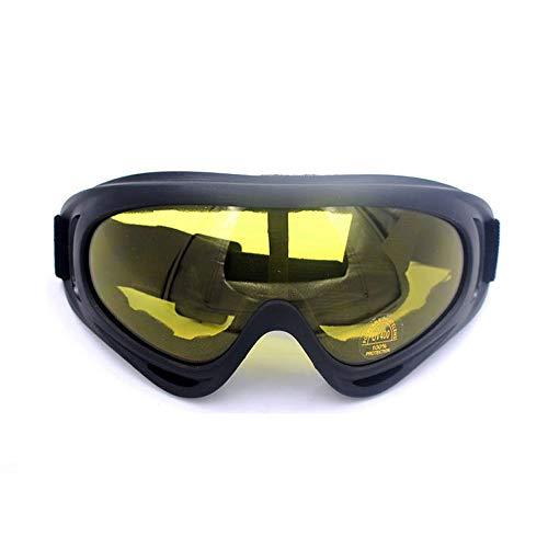 Goggles MXLTiandao X400 Outdoor Sports Brille Motorrad Anti-Sand-Reitbrille für Frauen und Männer (Color : 2, Size : One Size) (Ski-helme Brennen)