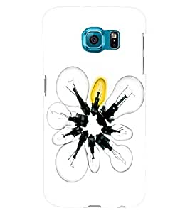 PRINTSWAG LIGHT BULBS Designer Back Cover Case for SAMSUNG GALAXY S6 EDGE