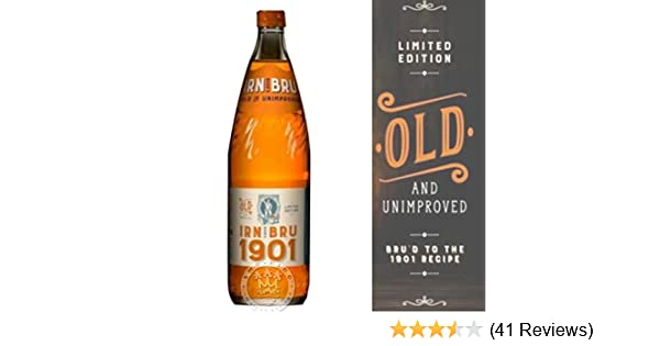 Irn Bru 1901 Full Sugar No Sweetners Limited Edition A Crate Of 12 Bottles