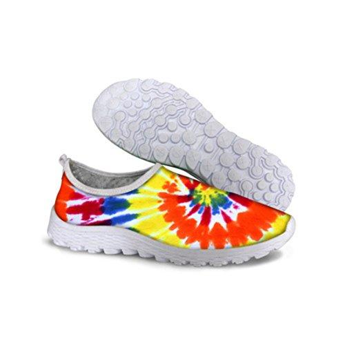 Mens Rainbow Resistant Zapatillas Deportivas Hombre Running Shoes C0735AA