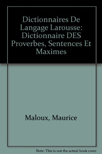 """<a href=""""/node/890"""">Dictionnaire des proverbes  sentences et maximes</a>"""