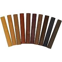 Liberon XKES54 - Cera para reparar madera (50 g), colores oscuros