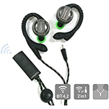 TOPlay BT-001 TrueOpen 2-in-1 Bluetooth Earbuds, Necktype Wireless Earphone