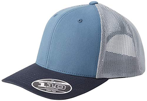 Flexfit 110 Trucker Kappe, Blue Tones, one Size