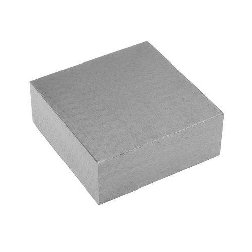 Mini Steel Bench Block Flat Anvil Jewelers Tool 2.5 x 2.5