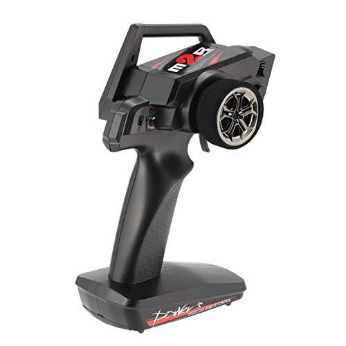 Footprintse 2.4G 2CH transmisor de Radio Control Remoto Piezas de Repuesto para Coche RC 1/12 Wltoys 12428/12423 4WD Crawler Mano Derecha Modo