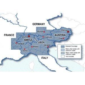 Garmin City Navigator NT-Kartierung Schweiz & Österreich Karte microSD/SD -