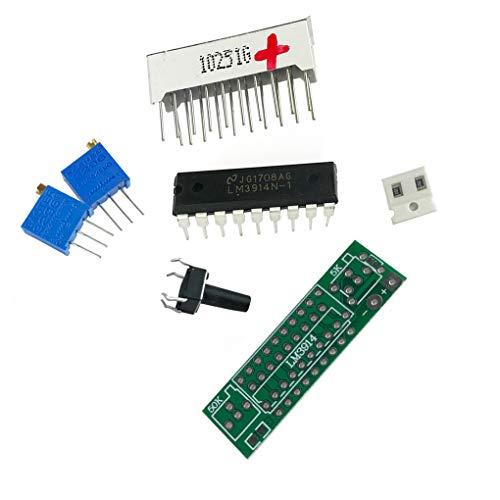 een Light 3,7 V Betriebsanzeige LED-Modul Lithium-Ionen-Akku-Kapazität Tester Lithium-Ionen-Lipo ()