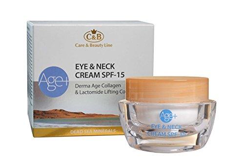 C&B Dead Sea Minerals Age+ Eye & Neck Day Cream SPF 15 Derma Age Collagen
