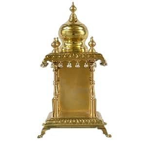 SC Handicrafts Brass Temple