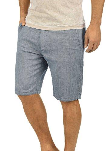 BLEND Apollo Herren Leinen-Shorts kurze Hose aus 100% Baumwolle Navy (70230) 559dc0b5fd