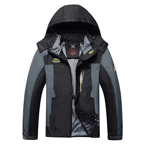 41uL1sUE9tL. SS500  - 4How Men's Sports Lightweight Jacket Light-Rainproof Hooded Hiking Climbing Rain Coat
