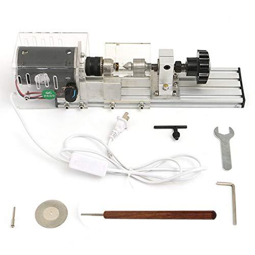 Be82aene Juego de torno de carpintería DIY con adaptador de corriente