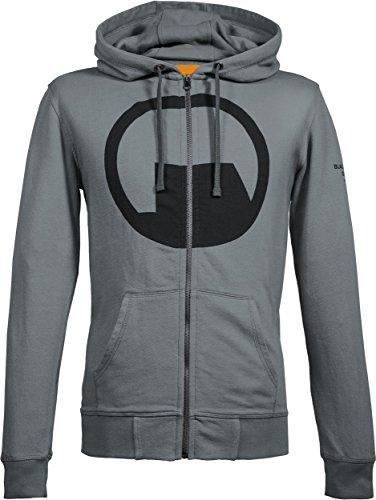 Musterbrand Half-Life Zip-hoodie Herren Black Mesa Explorer Sweatshirt-Jacke Grau XS (Black Mesa-shirt)