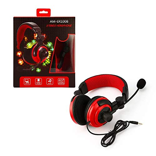Headset Gaming Headphone for PS4 for XBOX360 Crystal Clear Stereo Gaming Headphone With Microphone Led For Computer Clear Stereo