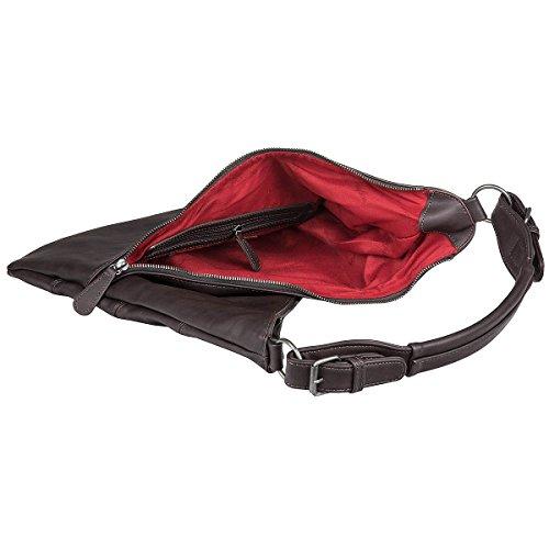 Fritzi aus Preußen Damen Gechina Business Tasche, 3x38x38 cm Mocca