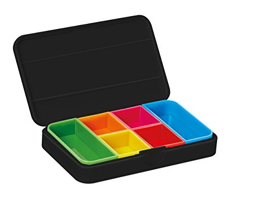 Vitility 90610050 Smart Pill Box zwart -