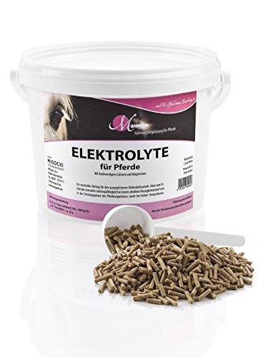 M-Premium ELEKTROLYTE – 1,5 kg – Ergänzungsfuttermittel für Pferde – Zum Erhalt der Gesundheit und der normalen Leistungsfähigkeit bei erhöhten Flüssigkeitsbedarf – Pellets (Organische Elektrolyte)